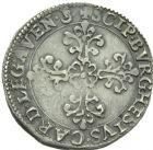 Photo numismatique  MONNAIES BARONNIALES Comtat VENAISSIN PAUL V (1605-1621) Demi Franc, Avignon 1608.