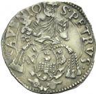 Photo numismatique  MONNAIES BARONNIALES Comtat VENAISSIN ALEXANDRE VII (1655-1667) Carlin, 1657.