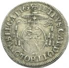 Photo numismatique  MONNAIES BARONNIALES Comtat VENAISSIN INNOCENT XII (1691-1700) 1/12ème d'écu, 1693.