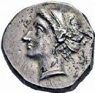 Photo numismatique  ARCHIVES VENTE 2016-19 oct GRÈCE ANTIQUE Italie - Calabre Monnayage CAMPANO-TARENTIN, (1ère moitié du IIIème siècle) 7- Statère.