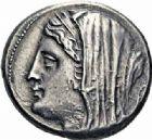 Photo numismatique  ARCHIVES VENTE 2016-19 oct GRÈCE ANTIQUE SICILE Syracuse Hiéron II et sa Maison (274-216) 32- Tétradrachme de 16 litres.