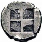 Photo numismatique  ARCHIVES VENTE 2016-19 oct GRÈCE ANTIQUE Villes de MACÉDOINE Lété (530-500) 37- Obole, (avant 500).