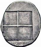 Photo numismatique  ARCHIVES VENTE 2016-19 oct GRECE ANTIQUE Villes de MACEDOINE Acanthe (424-380) 39- Tétrobole, (424-380).