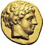 Photo numismatique  ARCHIVES VENTE 2016-19 oct GRECE ANTIQUE Rois de MACEDOINE PHILIPPE II (359-336) 40- Statère d'or, Amphipolis, (vers 340-328 ou 336-328).