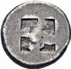 Photo numismatique  ARCHIVES VENTE 2016-19 oct GRECE ANTIQUE Iles de THRACE Thasos (550-463) 62- Statère.