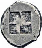 Photo numismatique  ARCHIVES VENTE 2016-19 oct GRECE ANTIQUE Iles de THRACE Thasos (550-463) 63- Statère.