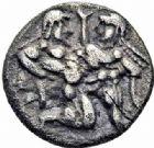Photo numismatique  ARCHIVES VENTE 2016-19 oct GRECE ANTIQUE Iles de THRACE Thasos (550-463) 64- Tiers de statère.