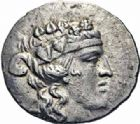 Photo numismatique  ARCHIVES VENTE 2016-19 oct GRECE ANTIQUE Iles de THRACE Thasos (Après 146 avant J.C.) 66- Tétradrachme, (après 148).