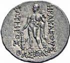 Photo numismatique  ARCHIVES VENTE 2016-19 oct GRÈCE ANTIQUE Iles de THRACE Thasos (Après 146 avant J.C.) 66- Tétradrachme, (après 148).