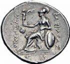 Photo numismatique  ARCHIVES VENTE 2016-19 oct GRECE ANTIQUE Rois de THRACE Lysimaque (323-281) 68- Tétradrachme, Lysimaquie, (vers 280-250).