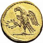 Photo numismatique  ARCHIVES VENTE 2016-19 oct GRÈCE ANTIQUE Rois des SCYTHES KOSON (milieu du 1er siècle avant J.C.) 71- Aureus, (à partir de 54).