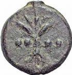 Photo numismatique  ARCHIVES VENTE 2016-19 oct RÉPUBLIQUE ROMAINE AES GRAVE. Rome  148- Triens (280-276).