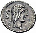 Photo numismatique  ARCHIVES VENTE 2016-19 oct RÉPUBLIQUE ROMAINE L. Calpurnius Piso Frugi (vers 90)  164- Denier.