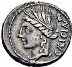 Photo numismatique  ARCHIVES VENTE 2016-19 oct RÉPUBLIQUE ROMAINE L. Cassius Caecianus (vers 102)  165- Denier.