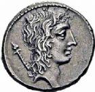 Photo numismatique  ARCHIVES VENTE 2016-19 oct RÉPUBLIQUE ROMAINE Q. Cassius Longinus (vers 55)  166- Denier.