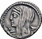 Photo numismatique  ARCHIVES VENTE 2016-19 oct RÉPUBLIQUE ROMAINE L. Cassius Longinus (vers 63)  167- Denier.