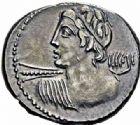 Photo numismatique  ARCHIVES VENTE 2016-19 oct RÉPUBLIQUE ROMAINE C. Licinius L. f. Macer (vers 84)  173- Denier.