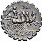 Photo numismatique  ARCHIVES VENTE 2016-19 oct RÉPUBLIQUE ROMAINE C. Naevius Balbus (vers 79)  177- Denier serratus.