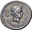 Photo numismatique  ARCHIVES VENTE 2016-19 oct RÉPUBLIQUE ROMAINE C. Norbanus (vers 83)  179- Denier.