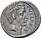 Photo numismatique  ARCHIVES VENTE 2016-19 oct RÉPUBLIQUE ROMAINE Q. Pompeius Rufus (vers 54)  182- Denier.