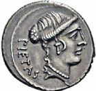 Photo numismatique  ARCHIVES VENTE 2016-19 oct RÉPUBLIQUE ROMAINE D. Iunius Brutus Albinus f. (vers 48)  183- Denier.