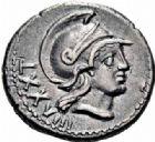 Photo numismatique  ARCHIVES VENTE 2016-19 oct RÉPUBLIQUE ROMAINE P. Satrienus (vers 77)  187- Denier.