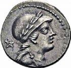 Photo numismatique  ARCHIVES VENTE 2016-19 oct RÉPUBLIQUE ROMAINE M. Volteius M. f. (vers 78)  192- Denier.