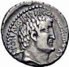 Photo numismatique  ARCHIVES VENTE 2016-19 oct REPUBLIQUE ROMAINE MARC ANTOINE (83/82-30)  209- Denier, Est, 33.