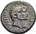 Photo numismatique  ARCHIVES VENTE 2016-19 oct RÉPUBLIQUE ROMAINE MARC ANTOINE et OCTAVIE  212- Bronze de M. Oppius Capito, province d'Achaea, (38-37).