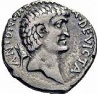 Photo numismatique  ARCHIVES VENTE 2016-19 oct RÉPUBLIQUE ROMAINE CLÉOPATRE et MARC ANTOINE  213- Denier, Est, (32-31).