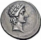 Photo numismatique  ARCHIVES VENTE 2016-19 oct EMPIRE ROMAIN OCTAVE-AUGUSTE. (Empereur en 29 - Auguste 27 av.-14 ap. JC)  218- Denier, Rome (29 avant J.C.).