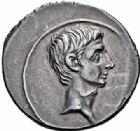 Photo numismatique  ARCHIVES VENTE 2016-19 oct EMPIRE ROMAIN OCTAVE-AUGUSTE. (Empereur en 29 - Auguste 27 av.-14 ap. JC)  220- Deniers, Rome, (29 avant J.C.) et Colonia Patricia, (19-18).