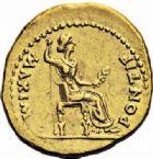 Photo numismatique  ARCHIVES VENTE 2016-19 oct EMPIRE ROMAIN TIBÈRE. (14-37)  222- Aureus, Lyon, (juillet 30 après J.C).