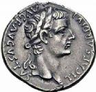 Photo numismatique  ARCHIVES VENTE 2016-19 oct EMPIRE ROMAIN TIBÈRE. (14-37)  223- Denier, Lyon, (juillet 30 après J.C.).