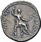 Photo numismatique  ARCHIVES VENTE 2016-19 oct EMPIRE ROMAIN TIBÉRE. (14-37)  223- Denier, Lyon, (juillet 30 après J.C.).