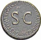 Photo numismatique  ARCHIVES VENTE 2016-19 oct EMPIRE ROMAIN TIBÉRE. (14-37)  224- Sesterce, Rome, (22-23).