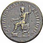 Photo numismatique  ARCHIVES VENTE 2016-19 oct EMPIRE ROMAIN TIBÈRE. (14-37)  224- Sesterce, Rome, (22-23).