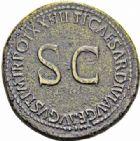 Photo numismatique  ARCHIVES VENTE 2016-19 oct EMPIRE ROMAIN TIBÈRE. (14-37)  225- Sesterce, Rome, (22-23).