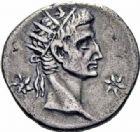 Photo numismatique  ARCHIVES VENTE 2016-19 oct EMPIRE ROMAIN CALIGULA (37-41)  227- Denier de la 1ère émission, Lyon, (après 18 mars 37).