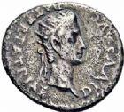 Photo numismatique  ARCHIVES VENTE 2016-19 oct EMPIRE ROMAIN CALIGULA (37-41)  228- Denier de la 2ème émission, Lyon, (fin 37).
