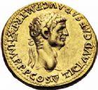 Photo numismatique  ARCHIVES VENTE 2016-19 oct EMPIRE ROMAIN CLAUDE (41-54)  231- Aureus au nom de Claude, Lyon, (49-50).