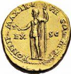 Photo numismatique  ARCHIVES VENTE 2016-19 oct EMPIRE ROMAIN NERON (54-68)  234- Aureus, Lyon, (60-61).