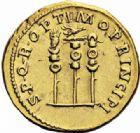 Photo numismatique  ARCHIVES VENTE 2016-19 oct EMPIRE ROMAIN TRAJAN (98-117)  244- Aureus, Rome, (fin 113-114).