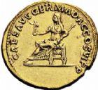 Photo numismatique  ARCHIVES VENTE 2016-19 oct EMPIRE ROMAIN PLOTINE (épouse de Trajan +129)  246- Aureus, Rome, (112-113).