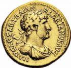 Photo numismatique  ARCHIVES VENTE 2016-19 oct EMPIRE ROMAIN HADRIEN (117-138)  247- Aureus, Rome, (119-122).