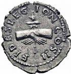 Photo numismatique  ARCHIVES VENTE 2016-19 oct EMPIRE ROMAIN CLODIUS ALBINUS (César 193-195 - Auguste 195-197)  259- Denier, Lyon, (195-197).