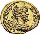 Photo numismatique  ARCHIVES VENTE 2016-19 oct EMPIRE ROMAIN SEPTIME SEVERE (193-211)  261- Aureus, Rome, (197).