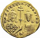 Photo numismatique  ARCHIVES VENTE 2016-19 oct EMPIRE BYZANTIN BASILE II et CONSTANTIN VIII (976-1025)  305- Nomisma histaménon, Constantinople.
