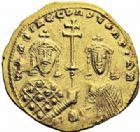 Photo numismatique  ARCHIVES VENTE 2016-19 oct EMPIRE BYZANTIN BASILE II et CONSTANTIN VIII (976-1025)  305- Nomisma histaménon, Constantinople.