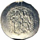 Photo numismatique  ARCHIVES VENTE 2016-19 oct EMPIRE BYZANTIN ANDRONIC Ier COMNENE (1183-1185)  306- Hyperpère, Constantinople.